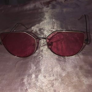 Accessories - Pink glasses